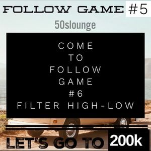 Come to follow game #6! Almost out of price drops!